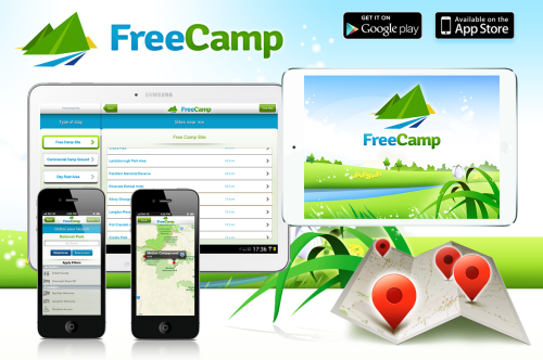 FreeCamp mobile app