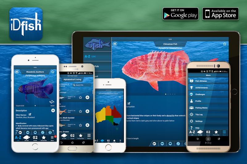 iDfish Recreational Fishing Reference App