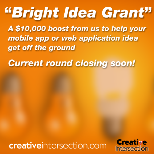 Bright Idea Grant for app and web ideas